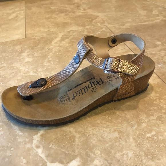febbda5a88d2 Birkenstock Shoes - Birkenstock Sandals in cool color! Size 36N EU